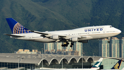 N120UA - Boeing 747-422 - United Airlines