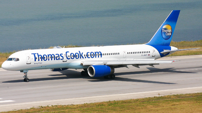 G-JMCF - Boeing 757-28A - Thomas Cook Airlines