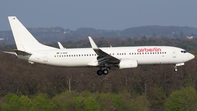 D-ABAF - Boeing 737-86J - Air Berlin