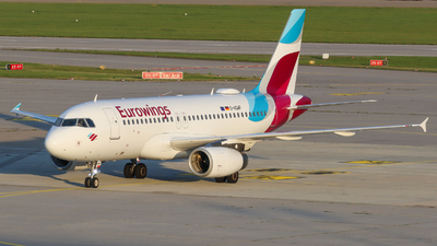 A picture of DAGWF - Airbus A319132 - Eurowings - © Justin Stöckel