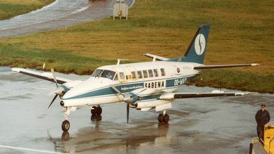 OO-WAY - Beech 99 Airliner - Sabena
