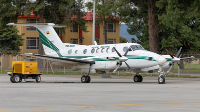 PNC-0239 - Beechcraft B200 Super King Air - Colombia - Police