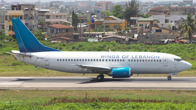 OD-HAJ - Boeing 737-3Q8 - Wings of Lebanon