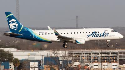 A picture of N626QX - Embraer E175LR - Alaska Airlines - © Saul Hannibal