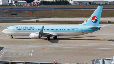 HL8223 - Boeing 737-9B5ER - Korean Air
