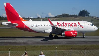 N703AV - Airbus A319-132 - Avianca Central America