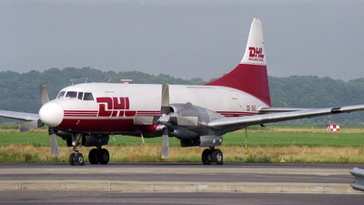 OO-DHJ - Convair CV-580 - DHL (European Air Transport)