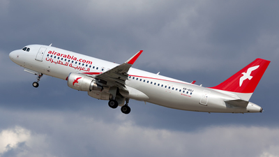 A6-AOJ - Airbus A320-214 - Air Arabia
