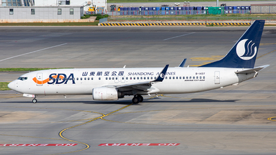 B-1437 - Boeing 737-85N - Shandong Airlines