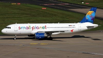 D-ASPI - Airbus A320-214 - Small Planet Airlines Germany