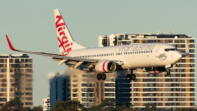 A picture of VHVUG - Boeing 7378FE - Virgin Australia - © Haozhe Peng