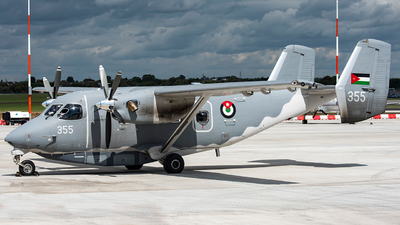 355 - PZL-Mielec M-28 Skytruck - Jordan - Air Force