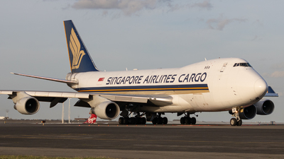 A picture of 9VSFP - Boeing 747412F(SCD) - Singapore Airlines - © Jeremy De Winter (jdw.spotting)