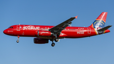 A picture of N615JB - Airbus A320232 - JetBlue Airways - © ne.planespotter