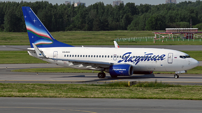 VQ-BGH - Boeing 737-75B - Yakutia Airlines