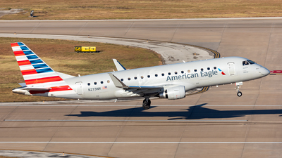 A picture of N273NN - Embraer E175LR - American Airlines - © shansixiang88