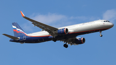 A picture of VPBKR - Airbus A321211 - Aeroflot - © Vitaly Revyakin