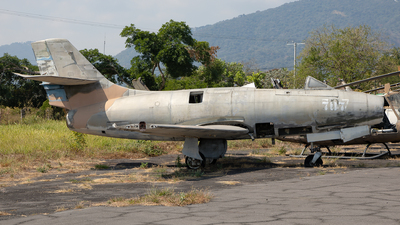 707 - Dassault MD.450 Ouragan - El Salvador - Air Force