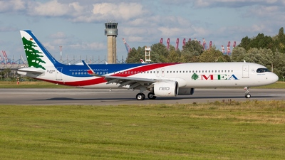D-AYAH - Airbus A321-271NX - Middle East Airlines (MEA)