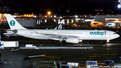 EC-NBP - Airbus A330-343 - Evelop Airlines