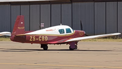 ZS-CBD - Mooney M20C - Westline Aviation