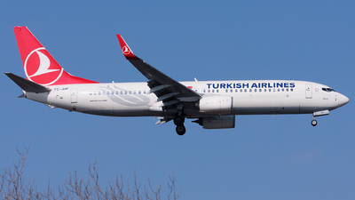 TC-JHP - Boeing 737-8F2 - Turkish Airlines