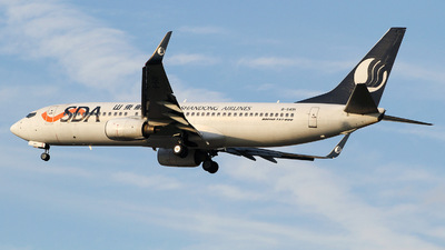 B-5491 - Boeing 737-85P - Shandong Airlines