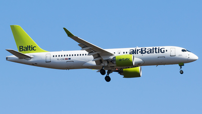 A picture of YLCSE - Airbus A220300 - Air Baltic - © Teemu Pesonen