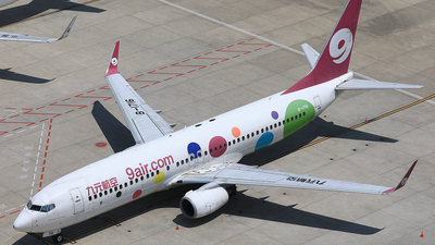 A picture of B1716 - Boeing 7378GP - 9 Air - © Qiao Zheng