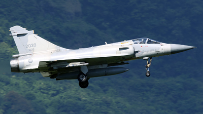 2039 - Dassault Mirage 2000-5EI - Taiwan - Air Force