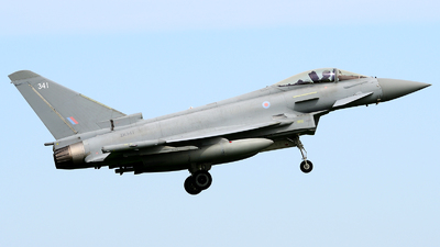 ZK341 - Eurofighter Typhoon FGR.4 - United Kingdom - Royal Air Force (RAF)