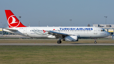 A picture of TCJPI - Airbus A320232 - Turkish Airlines - © srmark