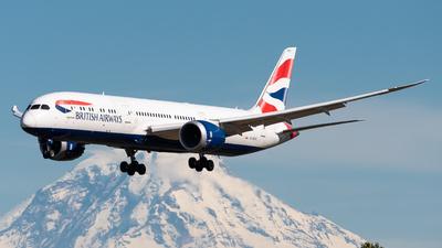 A picture of GZBKE - Boeing 7879 Dreamliner - British Airways - © Nick Sheeder