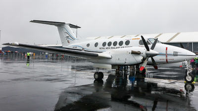 NZ7122 - Beechcraft B200 Super King Air - New Zealand - Royal New Zealand Air Force (RNZAF)