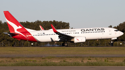 A picture of VHVYF - Boeing 737838 - Qantas - © Daniel Benefield