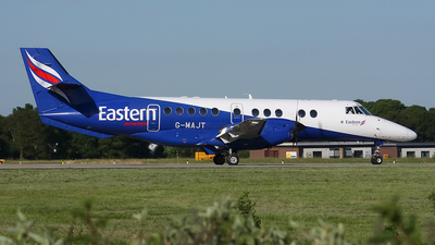 A picture of GMAJT - BAe Jetstream 41 - Eastern Airways - © jim kew