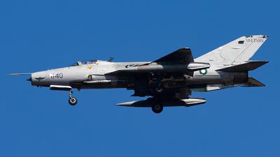 02-840 - Chengdu F-7PG - Pakistan - Air Force