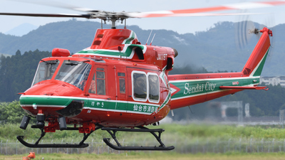 JA119T - Bell 412EP - Japan - Sendai City Fire Bureau