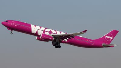EC-MIO - Airbus A330-343 - WOW Air