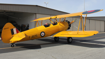 N60330 - Boeing A75N1 Stearman - Private