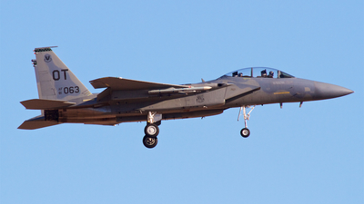 81-0063 - McDonnell Douglas F-15D Eagle - United States - US Air Force (USAF)