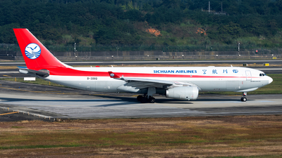 A picture of B308Q - Airbus A330243F - Sichuan Airlines - © Lazy Clutch