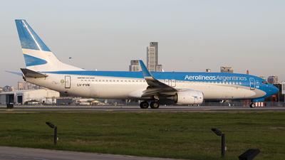 A picture of LVFVN - Boeing 7378SH - Aerolineas Argentinas - © Gabriel Gomez