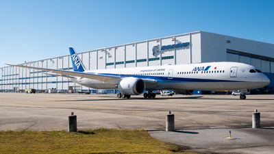 A picture of JA902A - Boeing 78710 Dreamliner - All Nippon Airways - © Devin | Charleston Spotter