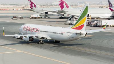 A picture of ETANZ - Boeing 7378HO - Ethiopian Airlines - © Abdurahman N.