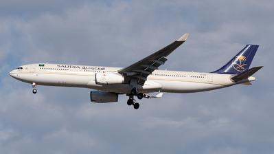 HZ-AQ11 - Airbus A330-343 - Saudi Arabian Airlines