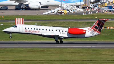 A picture of GSAJT - Embraer ERJ135ER - Loganair - © Johannes Wirl