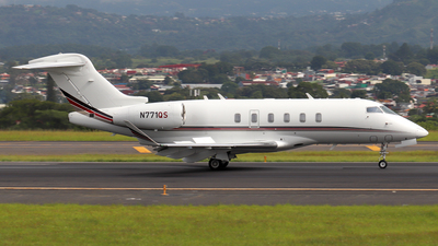 N771QS - Bombardier BD-100-1A10 Challenger 350 - NetJets Aviation