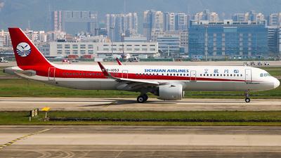B-1053 - Airbus A321-271N - Sichuan Airlines