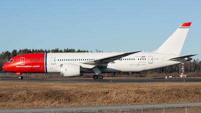 A picture of LNLNC - Boeing 7878 Dreamliner - Norwegian - © William Skoglund